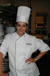 Elia Aboumrad has returned to Vegas after her time on Top Chef and still lives in Henderson. Don't try to talk about current seasons with her though, she doesn't own a TV.