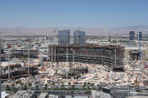 The $13 billion CityCenter project on the Strip.