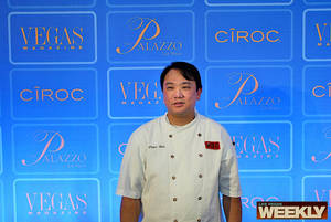 Chef Peter Woo from Woo's Restaurant at the Palazzo.