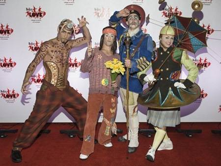 Cirque du Soleil stars set to join Robbie Knievel on Foxu0027s NYE telecast - Las Vegas Sun News  sc 1 st  Las Vegas Sun : cirque du soleil halloween costumes  - Germanpascual.Com
