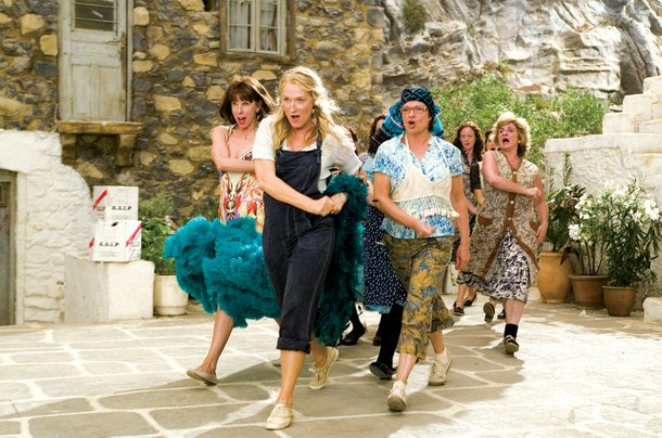 The film version of Mamma Mia!