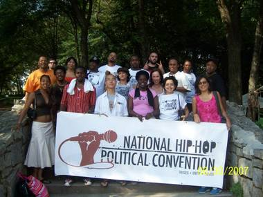 More than 1,000 attendees are expected at the National Hip-Hop Political Convention in town this weekend.