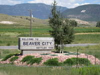 On the outskirts -- or is it inskirts? -- of Beaver or Beaver City.