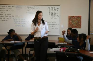 Eugenia Laurel teaches creative writing at Andre Agassi College Preparatory Academy.