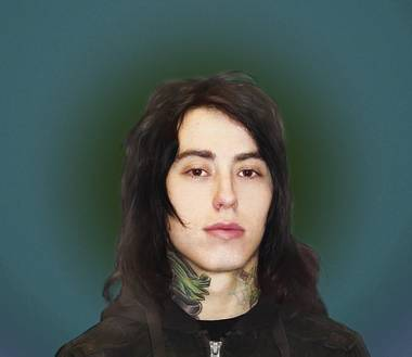 Ronnie Radke in his Metro mug shot.