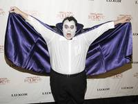 The Caped Avenger (or, in this case, comic Louie Anderson).