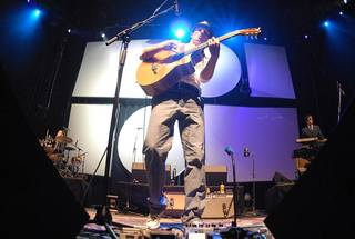 Jason Mraz at the Pearl Concert Theater.