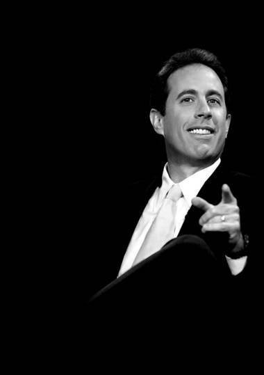 Jerry Seinfeld plays Friday and Saturday nights in The Colosseum.