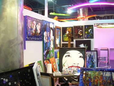 Studio/gallery space leased by Lonnie Gordon.