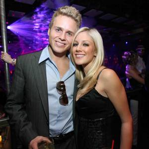 Spencer Pratt and Heidi Montag at Jet.