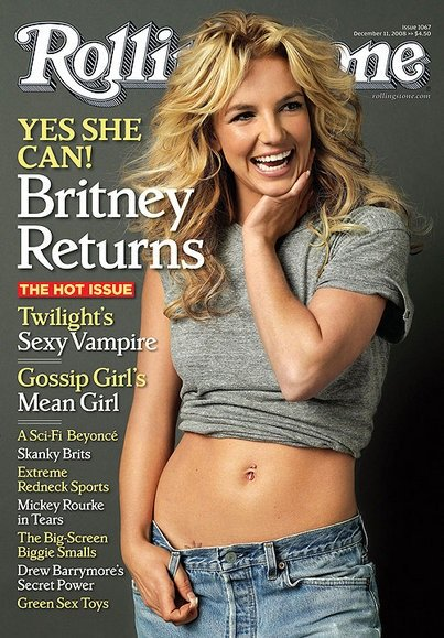 The Dec. 11 issue of Rolling Stone with Britney Spears gracing the cover.