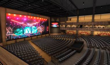Rendering of the stage at the new Joint.