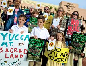 """No!"" to Nuclear Waste Dump."