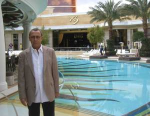 Victor Drai at XS during the day.