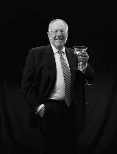 Mayor Oscar Goodman will celebrate his 70th birthday the only way he knows how: On the streets of Las Vegas with a Bombay Sapphire martini in his hand.