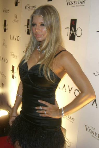 Fergie helped celebrate 2009 in high style at Lavo in the Palazzo last night. See Robin Leach's exclusive interview here.