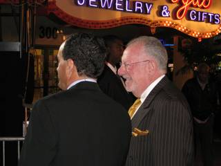 Oscar Goodman and Kevin Janison, just a couple of weather guys.