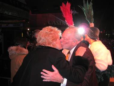 Mayor Oscar Goodman was a veritable rock star on Fremont Street on New Year's Eve, and would we want it any other way?