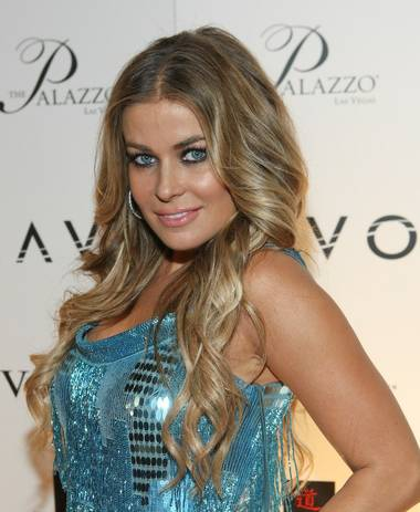 Carmen Electra hosted her party celebrating the end of 2008 at Tao in The Venetian. See her interview with Robin Leach here.