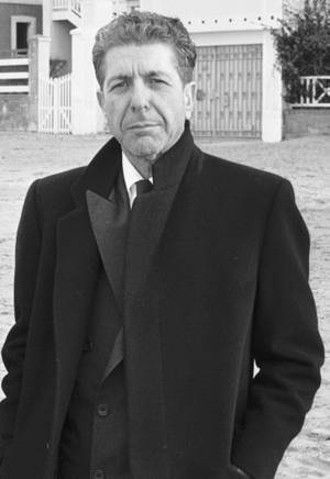 Leonard Cohen, Normandy, France, January 1988