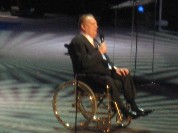 Larry Flynt at the 2009 AVN Awards Show.