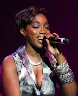 Estelle opens for John Legend at The Pearl Concert Theater at the Palms.