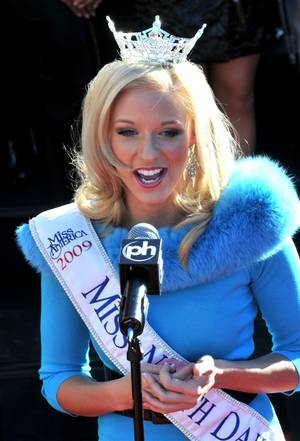 2009 Miss America: Arrival on the Strip