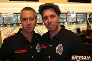 Punk Rock Bowling founders, Shawn and Mark Sterns.