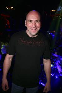 UFC President Dana White at his UFC 94 after-party at LAX.