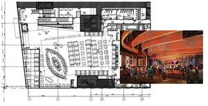 The new Hard Rock Cafe includes a retail shop, concert venue and private meeting space.