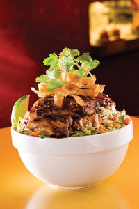 "5 Spice ""Chinese"" Chicken Salad."
