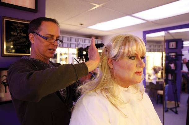 The Weekly's Joe Brown receives a drag makeover, care of Frank Marino and Divas Las Vegas.