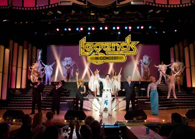 <em>Legends in Concert</em> at Harrah's.