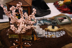 Modeled after a Zen garden, culinary student Cristina Beltran took home bronze honors for this elaborate cake. She said the judges were tougher this year than during the last Las Vegas Culinary Challenge, in which she won gold.