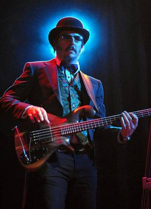 Les Claypool performs at the House of Blues.