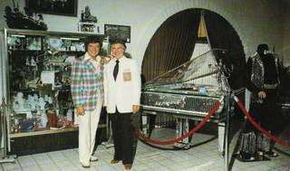 Liberace and George Liberace.