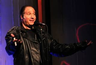 Andrew Dice Clay at Sushi Samba's SugarCane Live! in the Palazzo.