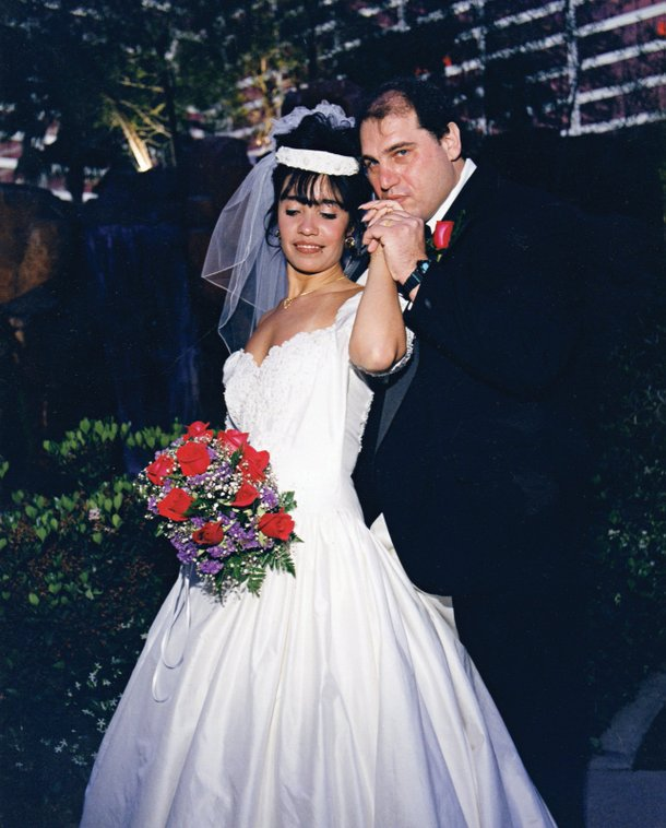 Jay with his wife Monica in 1998