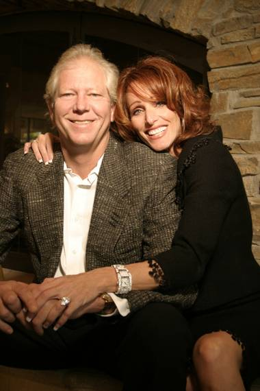 Jim and Glynda Rhodes, all smiles in 2006.