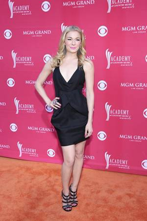 LeAnn Rimes at the 2009 Academy of Country Music Awards at MGM Grand Garden Arena.