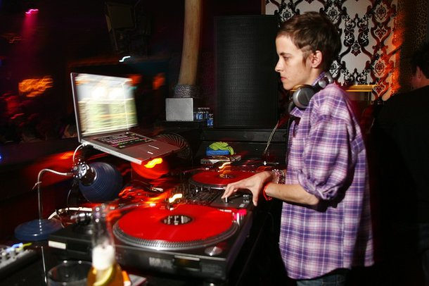 DJ Samantha Ronson at Prive.