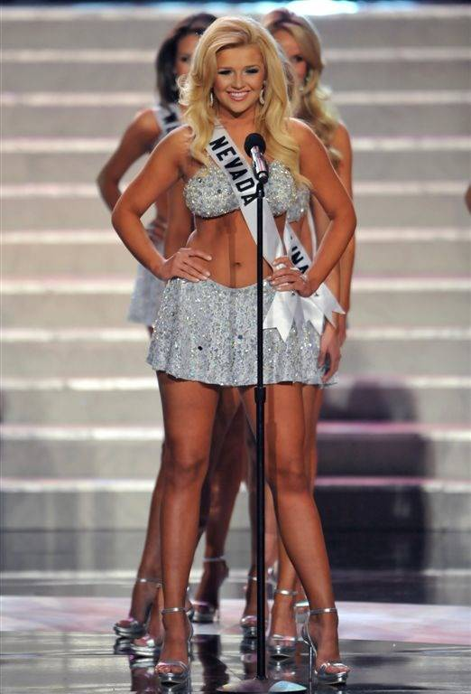 Miss Nevada USA Georgina Vaughan: Swimsuit & Evening Gown - - Las ...