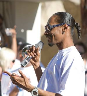 Snoop Dogg performs at REHAB opening day 2009 at The Hard Rock Hotel & Casino.