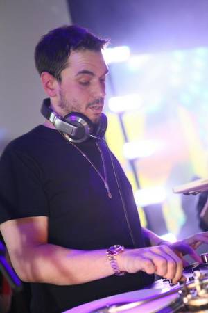 DJ AM performs at Rain in the Palms.