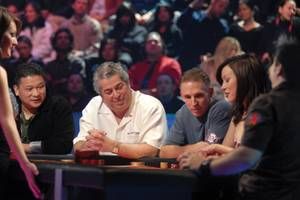 2007: Playing in an LA studio for the Ultimate Blackjack Tour All-Stars in with Johnny Chan, Joe Payne and Jennifer Tilly.