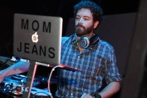 Actor Danny Masterson, aka DJ Mom Jeans, spins a set at the Palms.