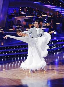 Gilles Marini and Cheryl Burke.