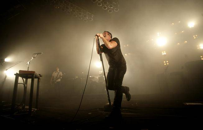 Nine Inch Nails performs at Pearl at the Palms on Monday, May 18, 2009, followed by a set from Jane's Addiction.
