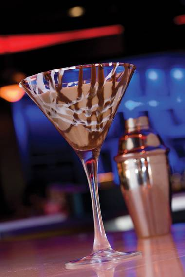 The Town Square lounge boasts 42 different martinis to sip and savor, and every day during happy hour from 4 p.m. to 8 p.m. they're half off, along with all appetizers.