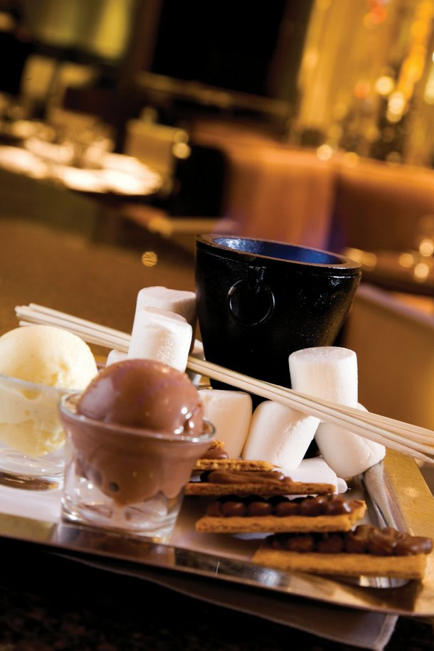 Best Offbeat Dessert: S'mores at N9NE Steakhouse